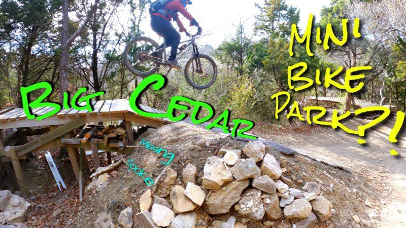 Mini Bike Park – DFW Big Cedar Trail
